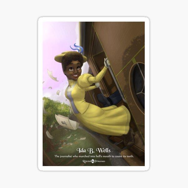 Ida B Wells - Rejected Princesses Sticker