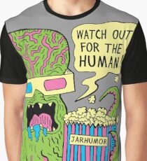 Alien Monster Movie Graphic T-Shirt
