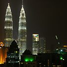 Swarovski Crystal? No, They're The Petronas Towers by David McMahon