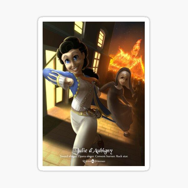 Julie d'Aubigny - Rejected Princesses Sticker