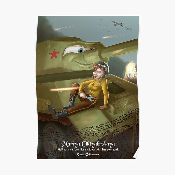 Mariya Oktyabrskaya - Rejected Princesses Poster