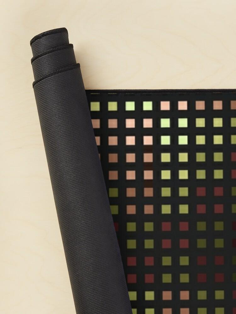 Alternate view of Bingi Bongi skewed color grid  Mouse Pad