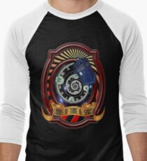 The Twelfth Doctor - Lords Of Time And Space Men's Baseball ¾ T-Shirt