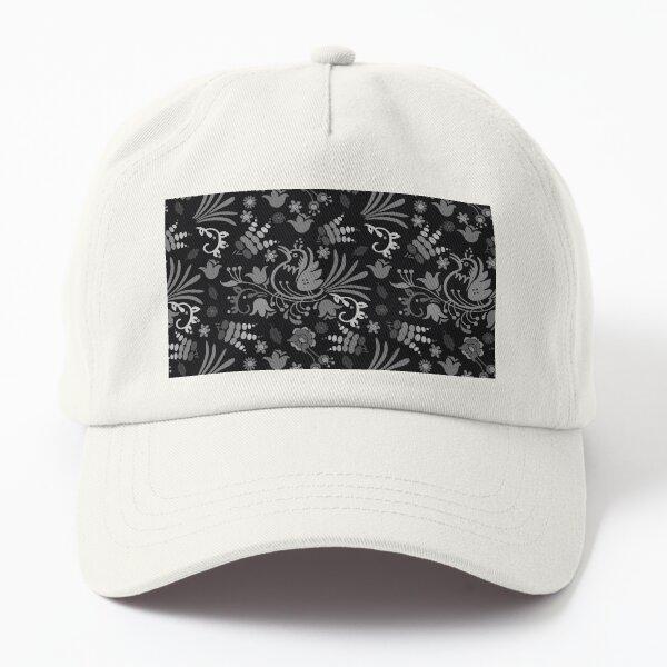 Beautiful birf floral designs Dad Hat