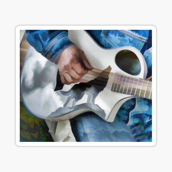 Music Heals the Body Sticker