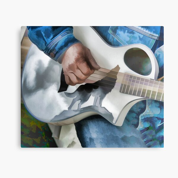 Music Heals the Body Metal Print