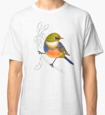 Silvereye bird Classic T-Shirt