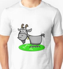 Funny Cartoon Goat  Unisex T-Shirt