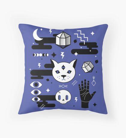 Eveel Kitties Throw Pillow