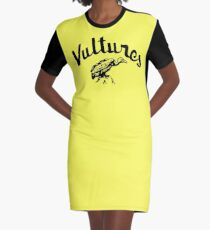 Recreated Atomic 'Vultures' T-shirt Graphic T-Shirt Dress