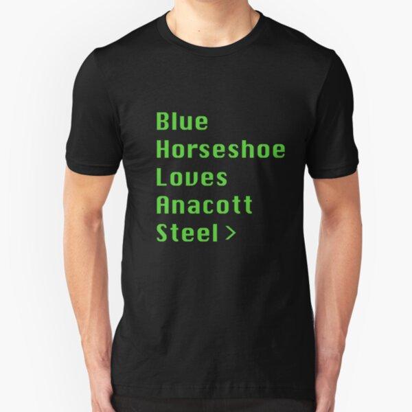 Blue Horseshoe Loves Anacott Steel Slim Fit T-Shirt