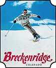 Breckenridge Colorado Vintage Travel Decal by hilda74