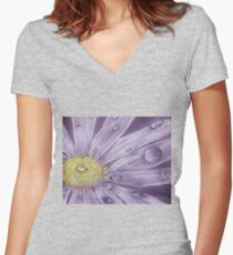 Daisy Rain Women's Fitted V-Neck T-Shirt