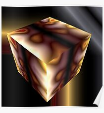 Cube Squared Poster