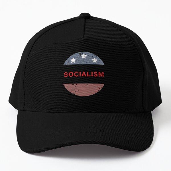 I Practice Socialism Distancing Baseball Cap