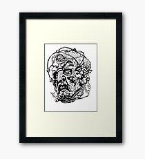 Davros - Three Framed Print