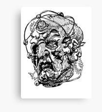 Davros - Three Canvas Print