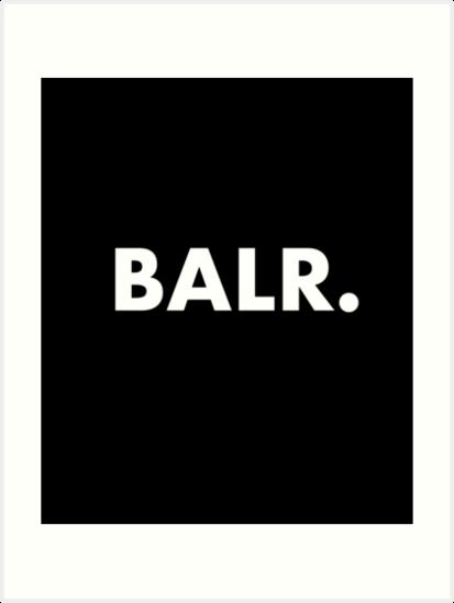 balr », impressions artistiques par misdememeor | redbubble