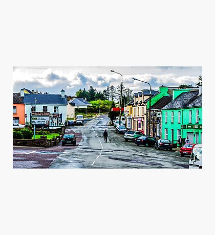 A Man And His Dog - Sneem, Ireland Photographic Print
