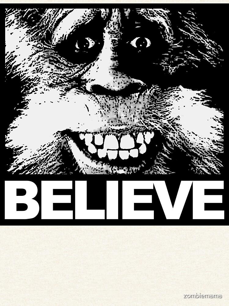 Glauben Sie an Bigfoot von zombiemama
