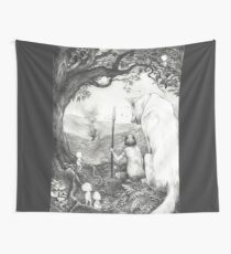 Between the roots and the branches Wall Tapestry