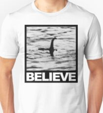 The Loch Ness Monster - Believe Unisex T-Shirt