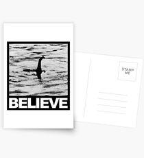 The Loch Ness Monster - Believe Postcards