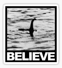 The Loch Ness Monster - Believe Sticker