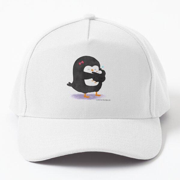 Mother Penguin's Love Baseball Cap