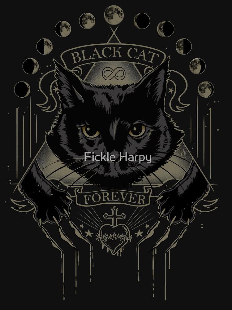 Schwarze Katze Kult von JollyNihilist