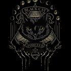 Black Cat Cult by JollyNihilist