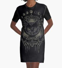Culte du chat noir Robe t-shirt