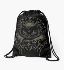 Mochila saco Black Cat Cult