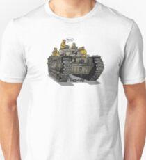 The Dogs of War: Churchill Tank Unisex T-Shirt