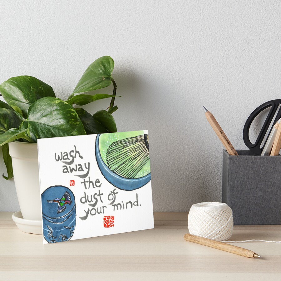 The Way of Tea Art Board Print
