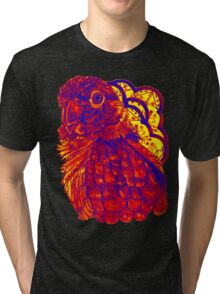 Sunset Conure Tri-blend T-Shirt