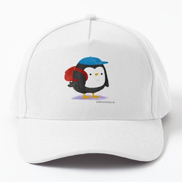 Jimmy Penguin goes to school Baseball Cap