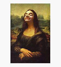 Mr Bean - Mona Lisa Photographic Print