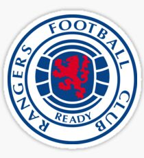 Glasgow Rangers Retro Sticker