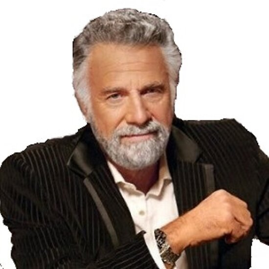 quotmost interesting man in the worldquot posters by eliteink