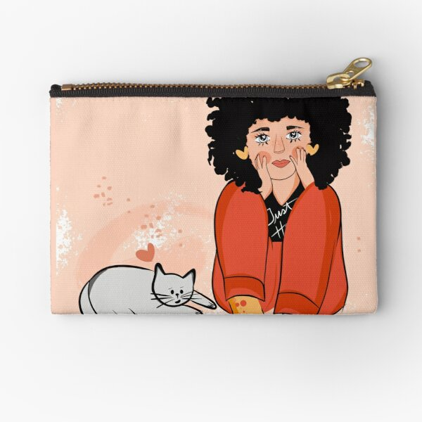 The life is magic Zipper Pouch