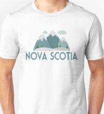 Nova Scotia Canada T-shirt - Snowy Mountain T-Shirt