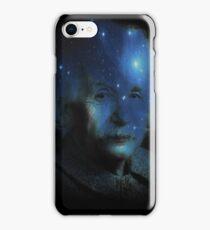Albert Einstein Genius Space Cosmos Galaxy Universe iPhone Case/Skin
