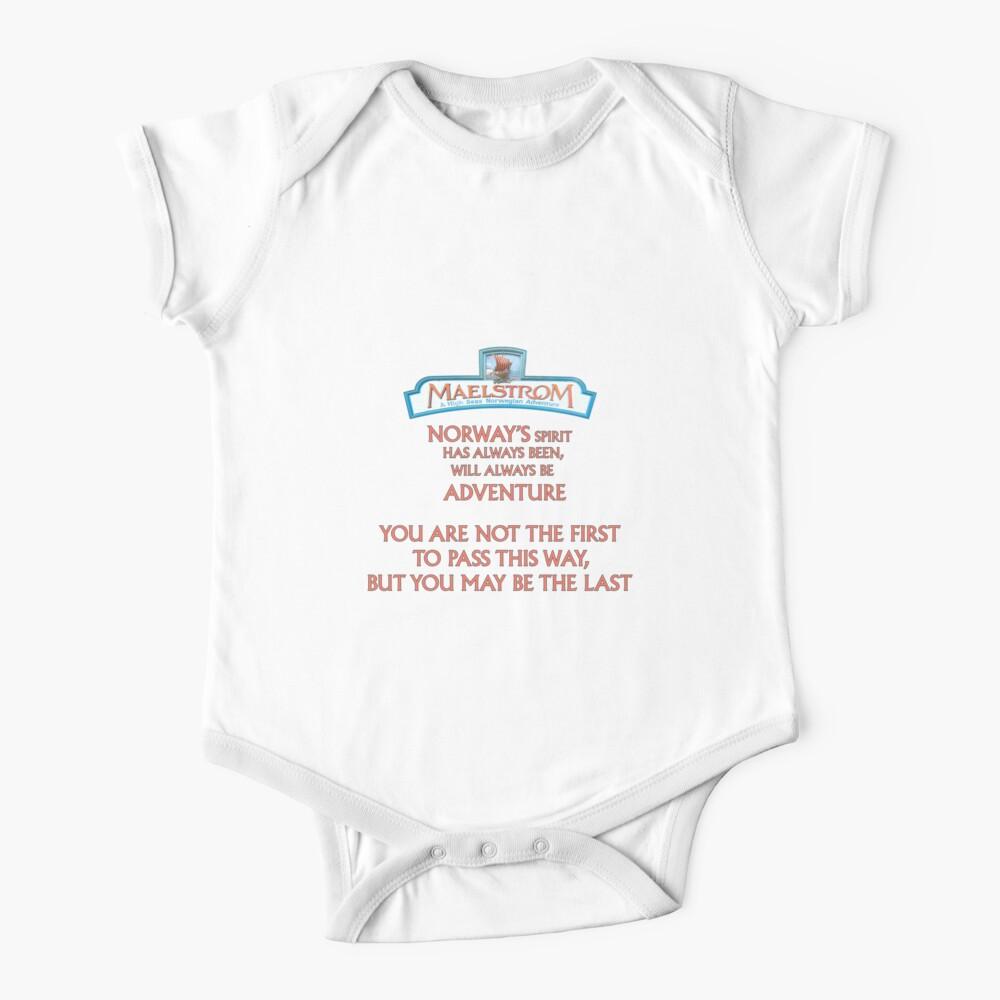 Maelstrom de Epcot Norway Body para bebé