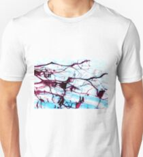 Reflections of Tree Branches in Water Unisex T-Shirt