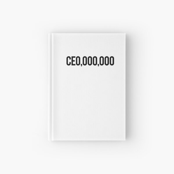 CE0,000,000 Hardcover Journal