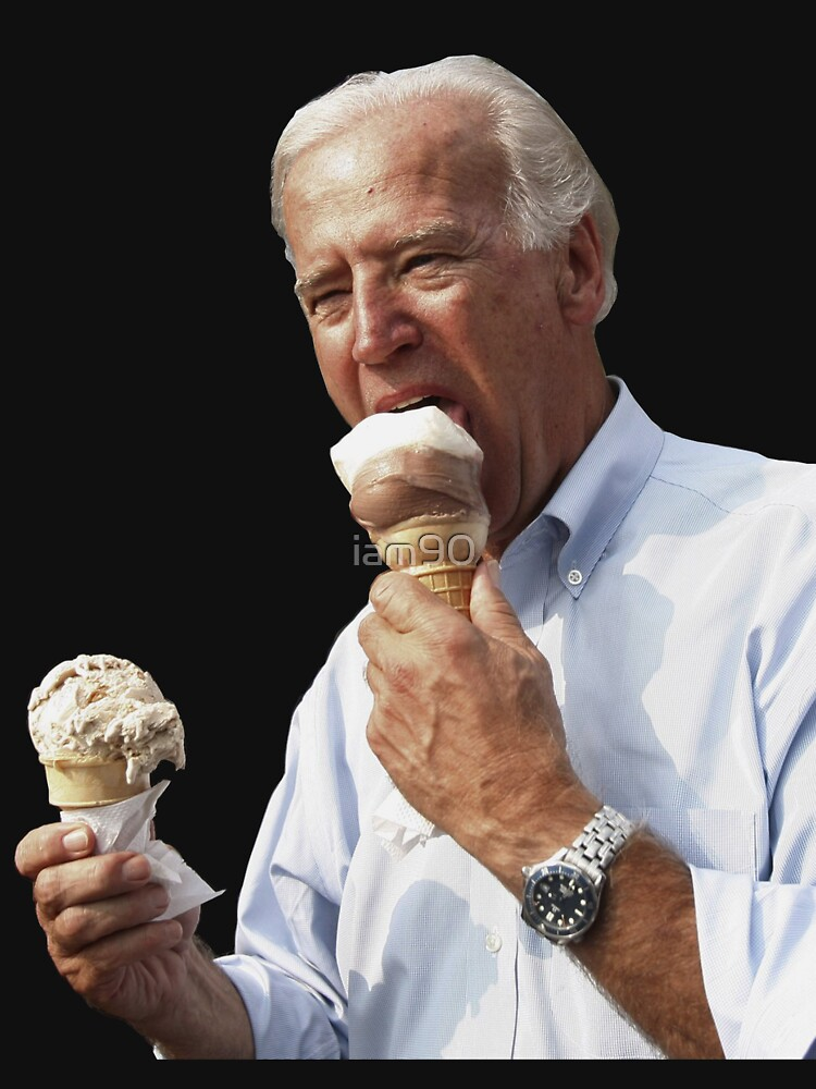 Joe Biden Eating Ice Cream | Unisex T-Shirt