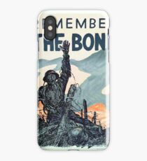 Vintage poster - Remember the Bond iPhone Case/Skin