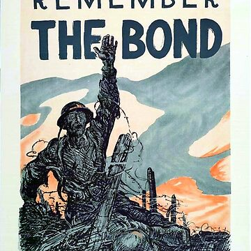 Vintage poster - Remember the Bond by mosfunky