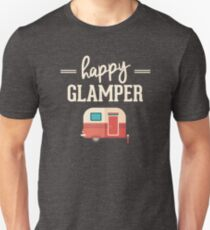 2977fc4f0 Happy Glamper - Glamping Camping Slim Fit T-Shirt